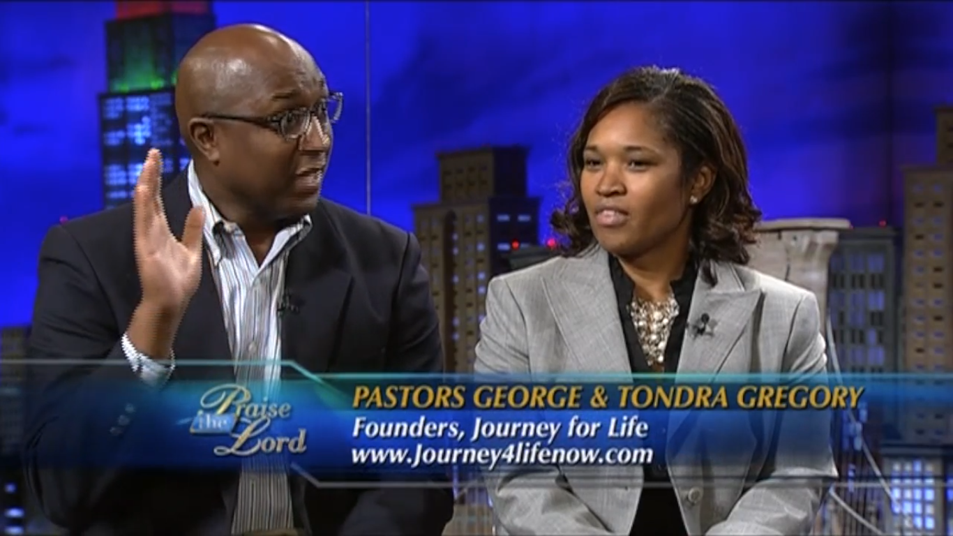 Journey for Life on TBN September 2013 (Video-Part 1)